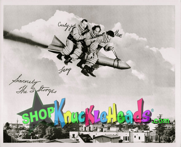 Three Stooges 8X10 Have Rocket: #1