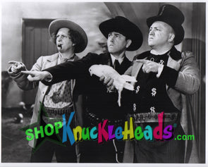 The Three Stooges COWBOYS 8x10: #8 - READY TO SHIP