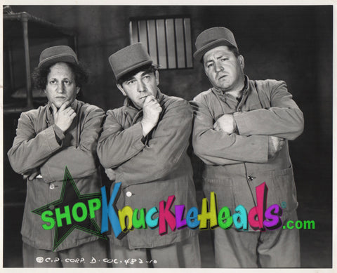 The Three Stooges 8X10: #11 - READY TO SHIP