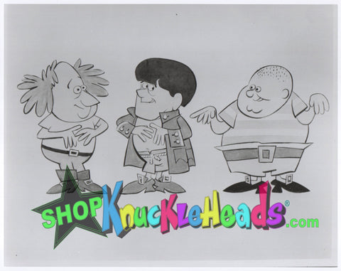 The Three Stooges 8x10: #9 - READY TO SHIP