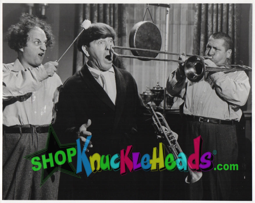 Three Stooges Two Man Quartet 8X10: #10