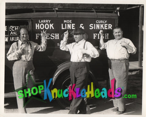 The Three Stooges 8x10: #2 - READY TO SHIP