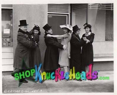 The Three Stooges DANCING W/LADIES 8x10 #3 - READY TO SHIP