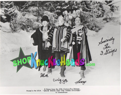 The Three Stooges 8x10: #4 - READY TO SHIP