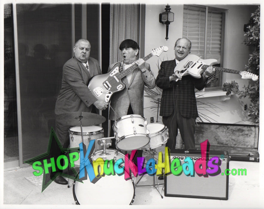 Three Stooges Rock And Roll 8X10: #5
