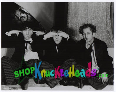 The Three Stooges HEAR NO EVIL WITH SHEMP 8x10: #7 - READY TO SHIP
