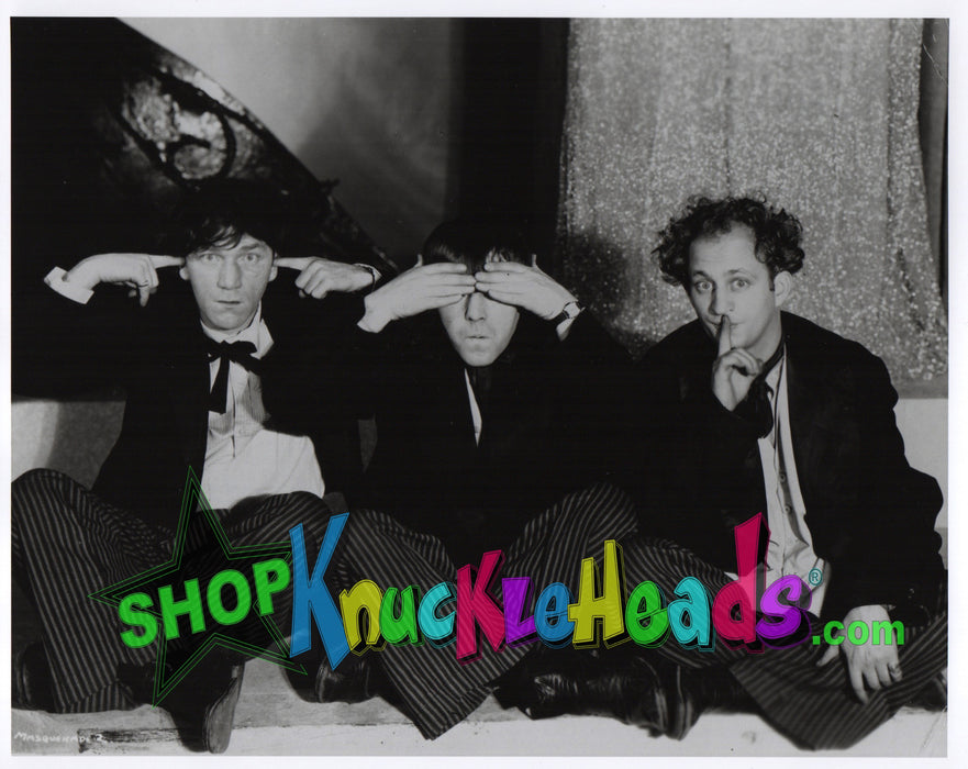 Three Stooges Hear No Evil With Shemp 8X10: #7