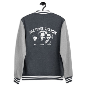 Three Stooges Classic Logo Men's Letterman Jacket