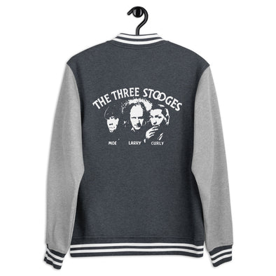 Three Stooges Classic Logo Letterman Jacket