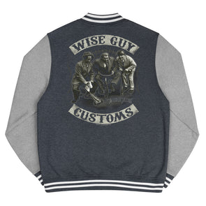 Three Stooges Wise Guy Customs Men's Letterman Jacket