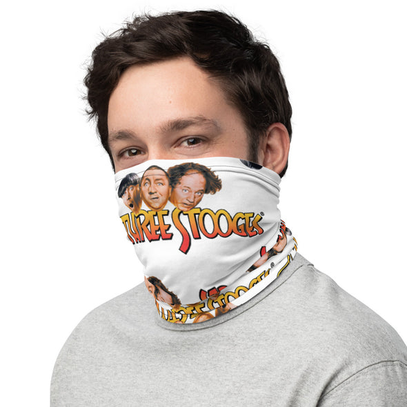 Three Stooges Logo Neck Gaiter / Face Mask / Face Cover