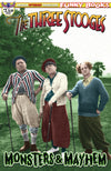 Three Stooges Comic Books Series 11 Limited Edition 3 Cover Bundle - Monsters & Mayhem