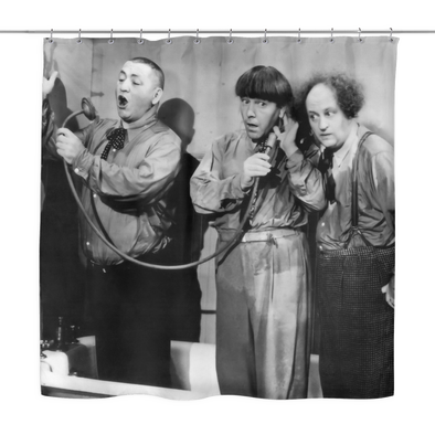 Three Stooges Shower Curtain - Free Shipping