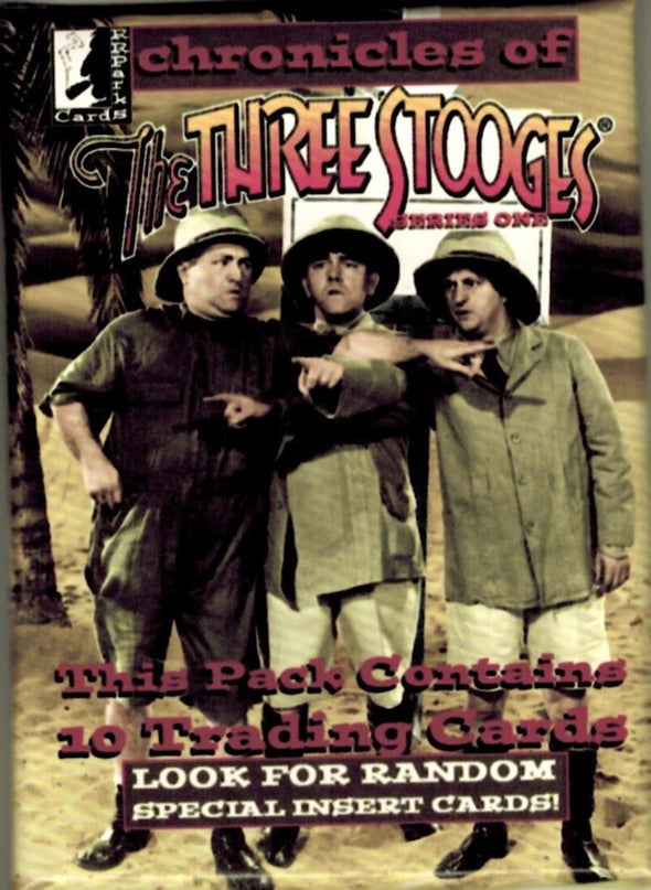 The Three Stooges Trading Cards: Series 1 - Pack - READY TO SHIP