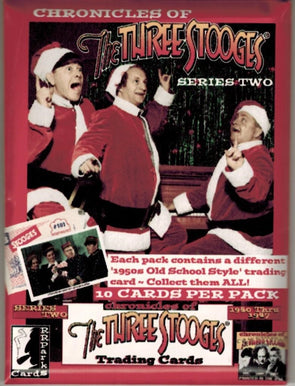 The Three Stooges Trading Cards: Series 2 - Pack - READY TO SHIP