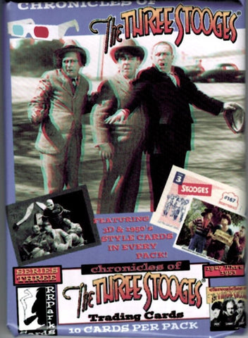The Three Stooges Trading Cards: Series 3 - Pack - READY TO SHIP