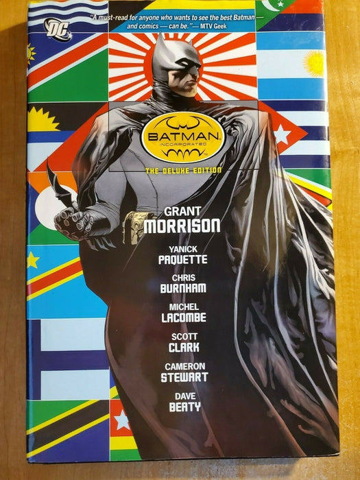DC Batman Incorporated Deluxe Edition hardcover Grant Morrison