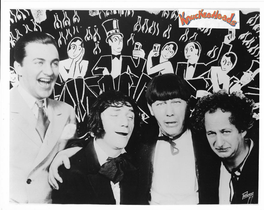Three Stooges With Shemp Original Glossy Promo Photo 8X10