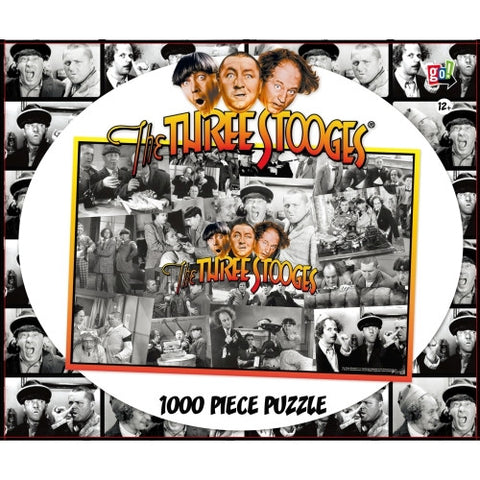 The Three Stooges 1000 Piece Puzzle:  Shennanigans - READY TO SHIP