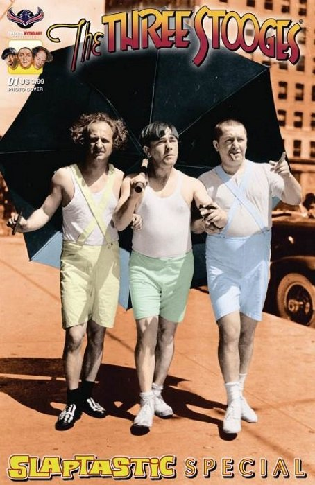 Three Stooges Comic Book Series 10 / Cover 2: Stooges Special Color Photo Cover