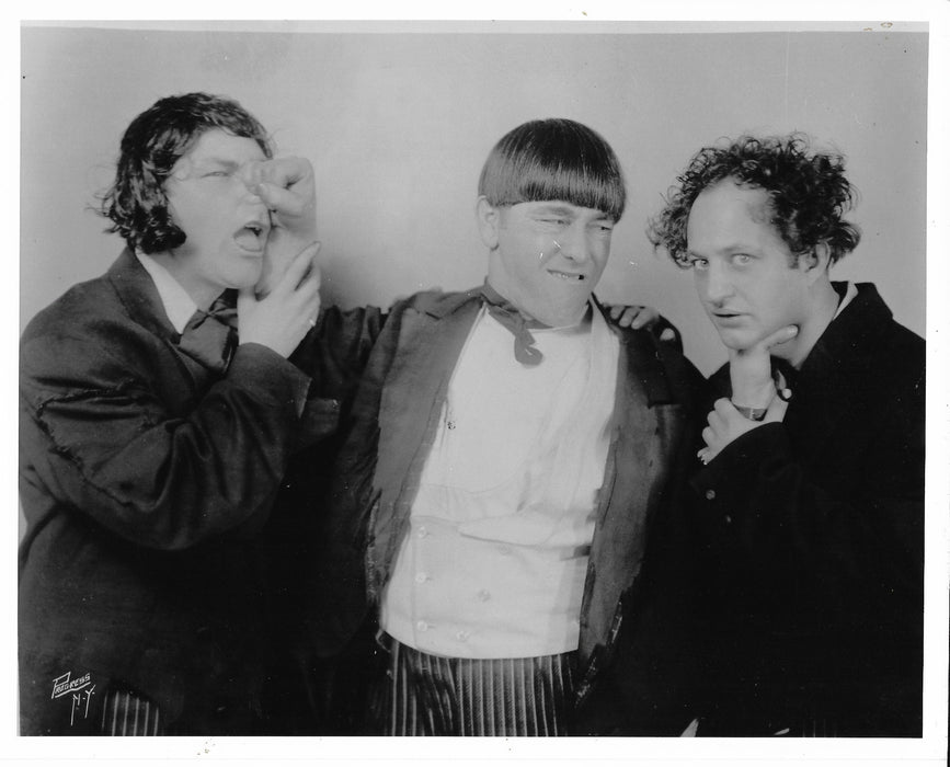 Three Stooges Young Shemp Original Glossy Promo Photo 8X10