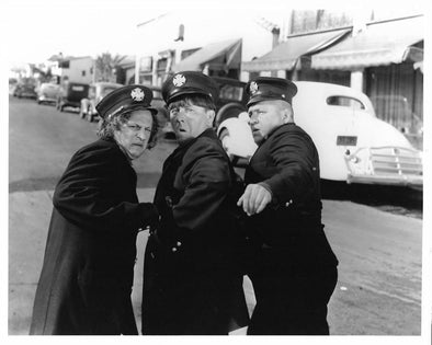 Three Stooges Police Original Glossy Promo Photo 8X10