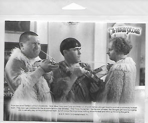 Three Stooges Commerotavie 5x7 Print With Certificate Of Authenticity - Woman Haters