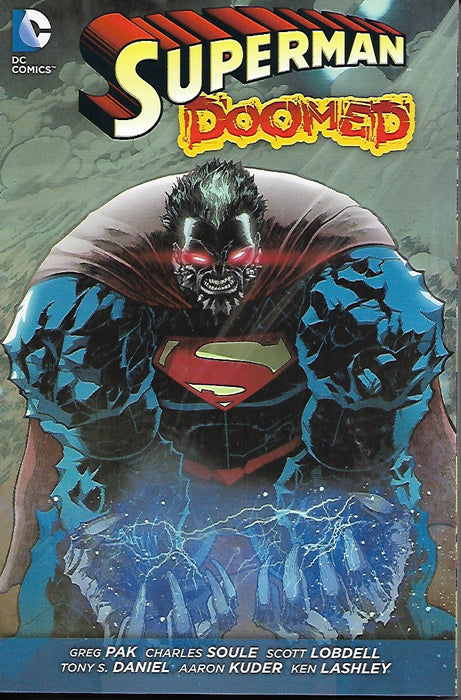 DC Superman Doomed: Huge Paperback Graphic Novel