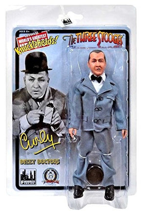 Three Stooges Action Figure | Dizzy Doctors Curly