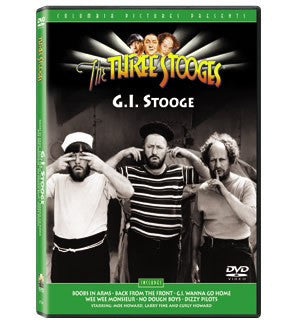 The Three Stooges DVD: G.I. Stooge - READY TO SHIP