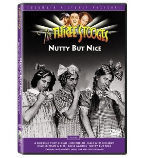 The Three Stooges DVD: Nutty But Nice - READY TO SHIP