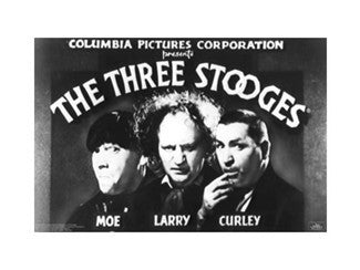 The Three Stooges Poster: Opening Credits - READY TO SHIP