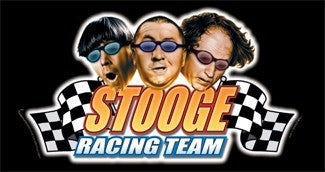 The Three Stooges Magnet: Racing Team - READY TO SHIP