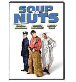 The Three Stooges DVD: Soup To Nuts - READY TO SHIP