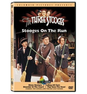 The Three Stooges DVD: Stooges On The Run - READY TO SHIP
