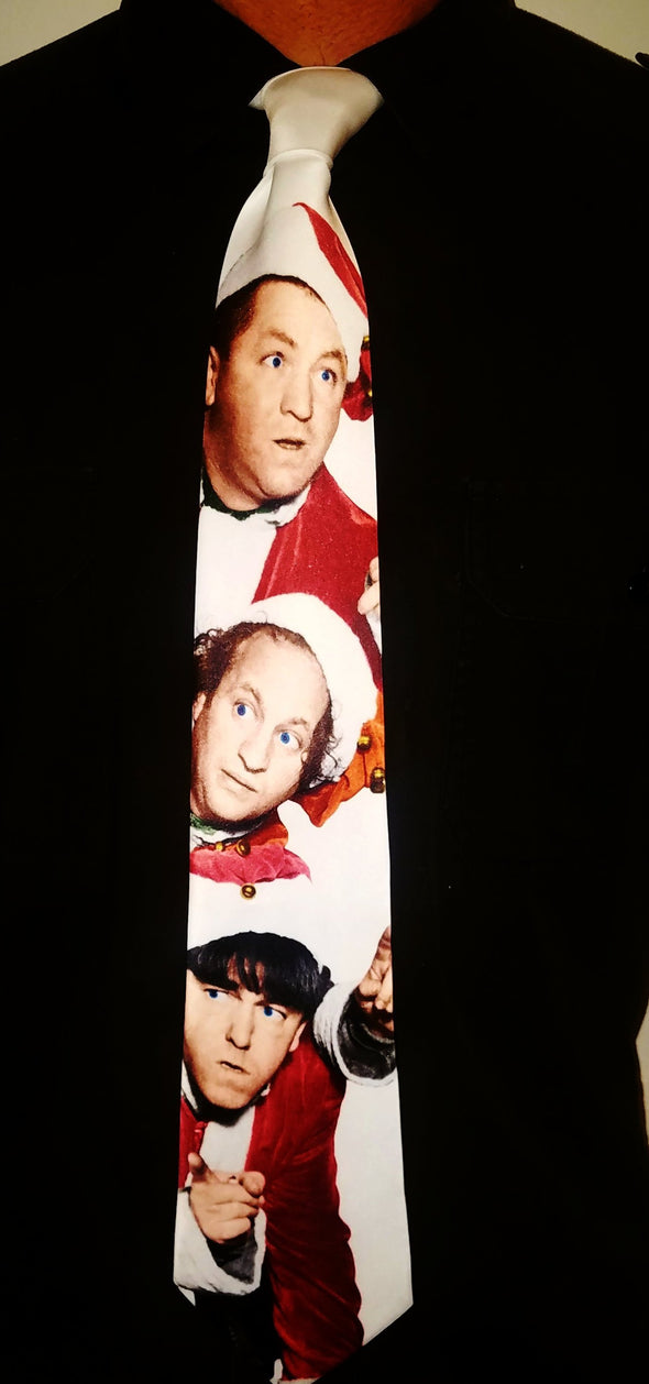 Three Stooges Neck Tie | Christmas - Free Shipping