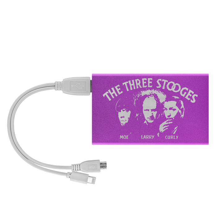 The Three Stooges Mobile Device Power Bank