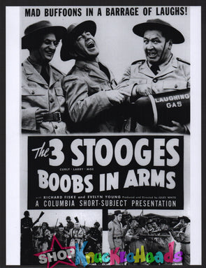 Three Stooges Boobs In Arms Large Lobby Card #21