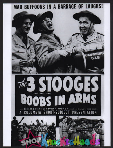 The Three Stooges 8X10: #21 - READY TO SHIP
