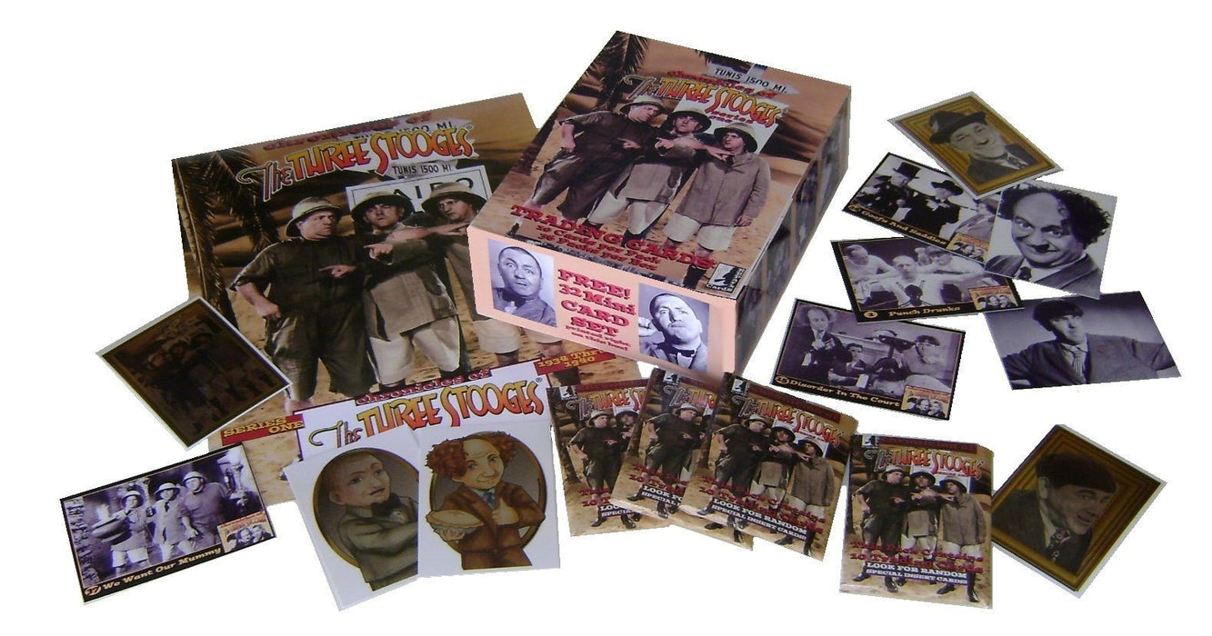 The Three Stooges Trading Cards: Series 1 - Box Set