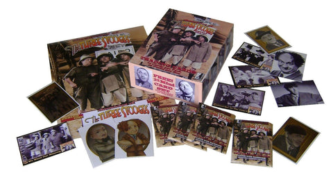 The Three Stooges Trading Cards: Series 1 - Set - READY TO SHIP