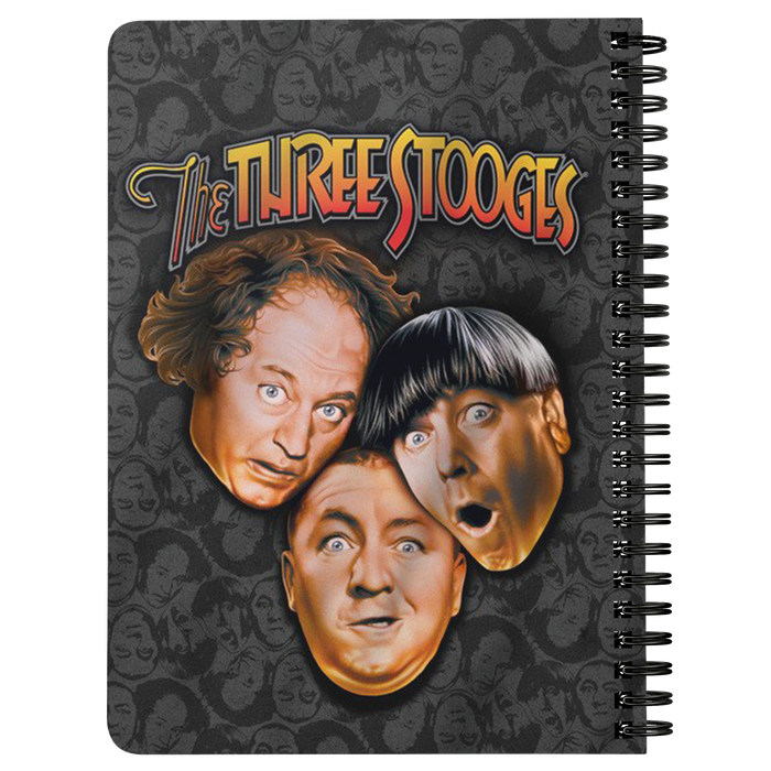 Three Stooges Notebook Large Logo