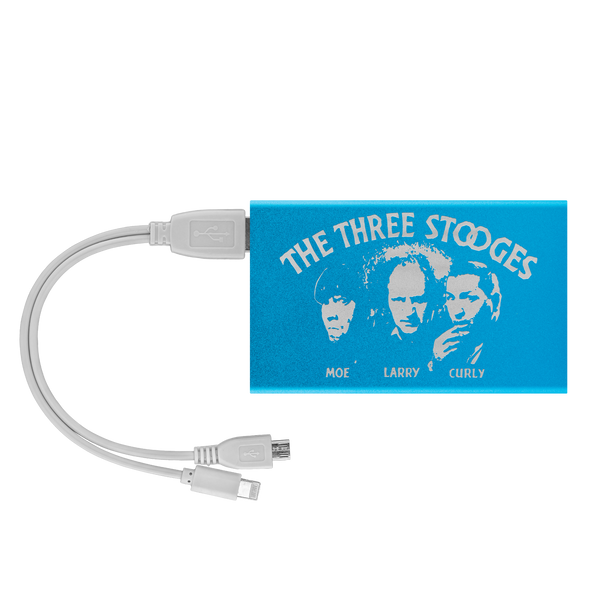 The Three Stooges Mobile Device Power Bank - Free Shipping