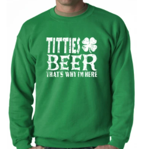 Crewneck Sweatshirt - St.Patricks Day