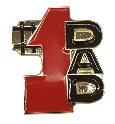 #1 Dad Lapel Pin