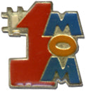 #1 Mom Lapel Pin