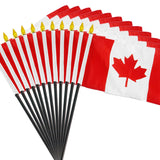 12 Pack of 4x6 Inch Canadian Flag (12 Pack)