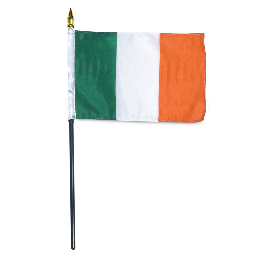 12 Pack of 4x6 Inch Ireland Flag (12 Pack)