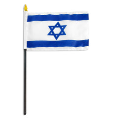 12 Pack of 4x6 Inch Israeli Flag (12 Pack)