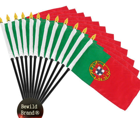 12 Pack of 4x6 Inch Portugal Flag (12 Pack)